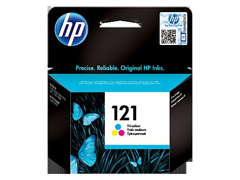 Струйный картридж HP 121 (Оригинальный, Цветной) CC643HE