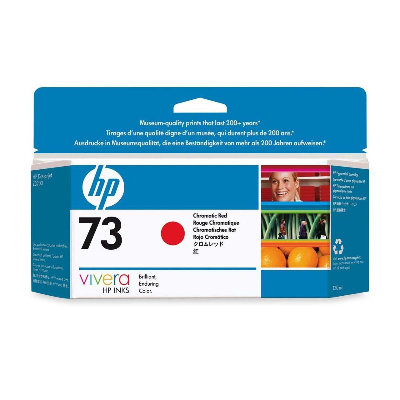 Картридж HP 73 Chromatic Red CD951A