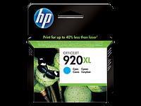 Струйный картридж HP 920XL (Оригинальный, Голубой - Cyan) CD972AE