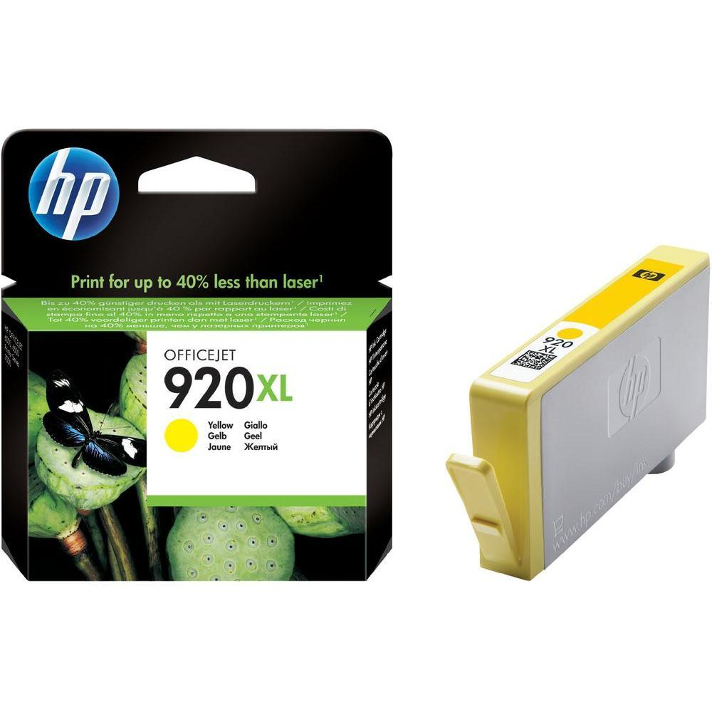 Струйный картридж HP 920XL (Оригинальный, Желтый - Yellow) CD974AE