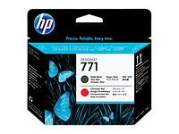 Печатающая головка HP 771 Matte Black and Chromatic Red CE017A