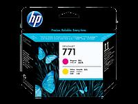 Печатающая головка HP 771 Magenta and Yellow CE018A