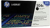 Лазерный картридж HP 504X  (Оригинальный, Черный - Black) CE250X