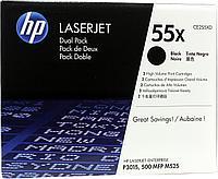 Лазерный картридж HP 55XD (Оригинальный, Черный - Black) CE255XD
