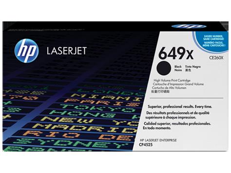 Лазерный картридж HP 649X (Оригинальный, Черный - Black) CE260X