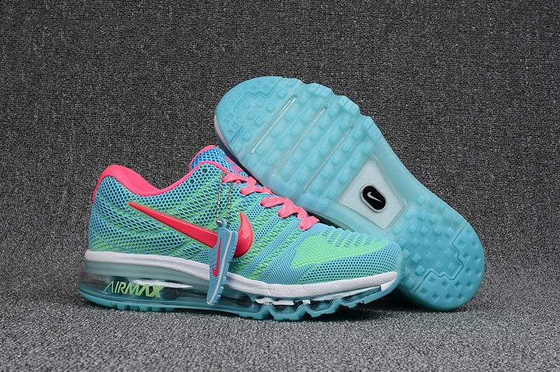 "Кроссовки Nikе Air Max 2017 KPU ""Green Blue Pink"" (36-40)"