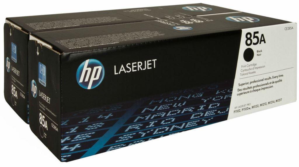 Лазерный картридж HP 85A (Оригинальный, Черный - Black) CE285AF