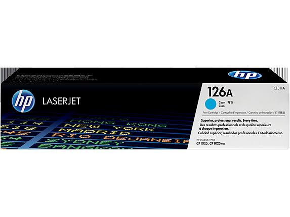 Лазерный картридж HP 126A (Оригинальный, Голубой - Cyan) CE311A