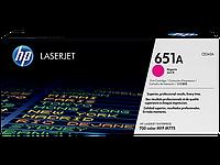 Лазерный картридж HP 651A (Оригинальный, Пурпурный - Magenta) CE343A
