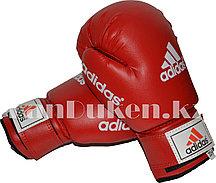 Боксерские перчатки OZ-8 красные с надписью