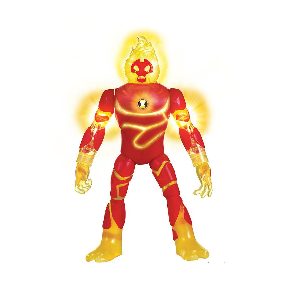 Ben 10 Фигурка 16 см Бен 10 - Человек Огонь (свет, звук)