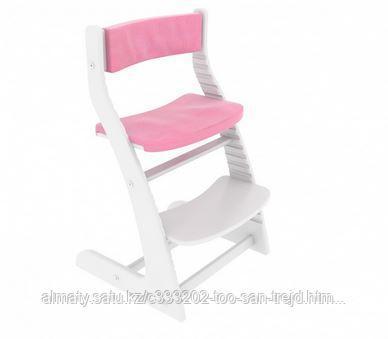 Мягкое основание розовое для растущего стула Усура