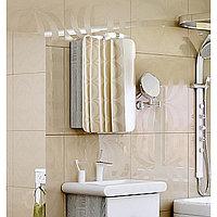 Зеркало-шкаф Aqwella Alicante 70 со светильником Alic.04.05/Gray