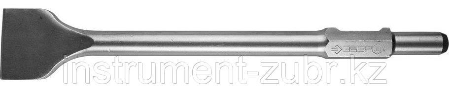 ЗУБР HEX 30 Зубило лопаточное 75 х 450 мм, фото 2