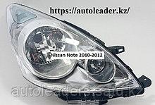 Фары на Nissan Note 2010-2012