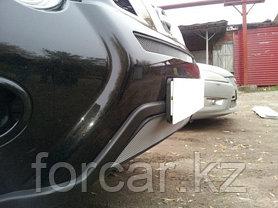 Защита радиатора Nissan X-Trail  2011- chrome низ, фото 2