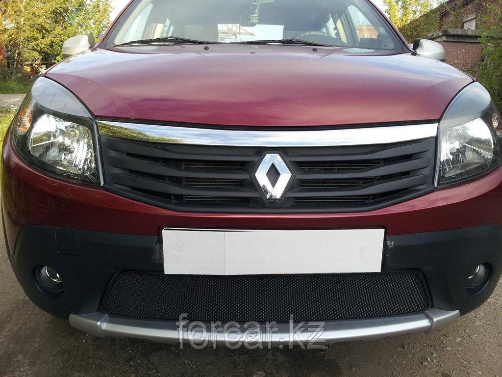 Защита радиатора Renault Sandero Stepway black
