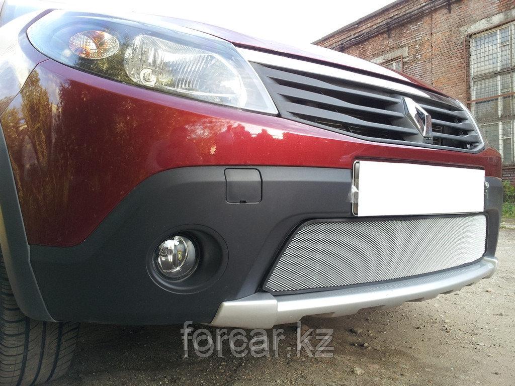Защита радиатора Renault Sandero Stepway chrome