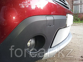 Защита радиатора Renault Sandero Stepway chrome, фото 2