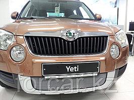 Защита радиатора Skoda Yeti 2009-2013 chrome