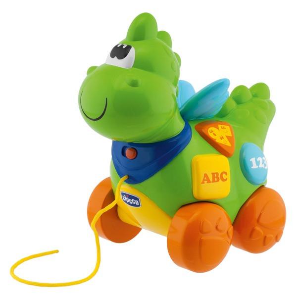Chicco: Игрушка развивающая Говорящий дракон 9м+