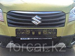 Защита радиатора Suzuki SX4 NEW 2013 - black