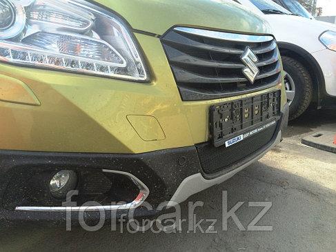 Защита радиатора Suzuki SX4 NEW 2013 - black, фото 2