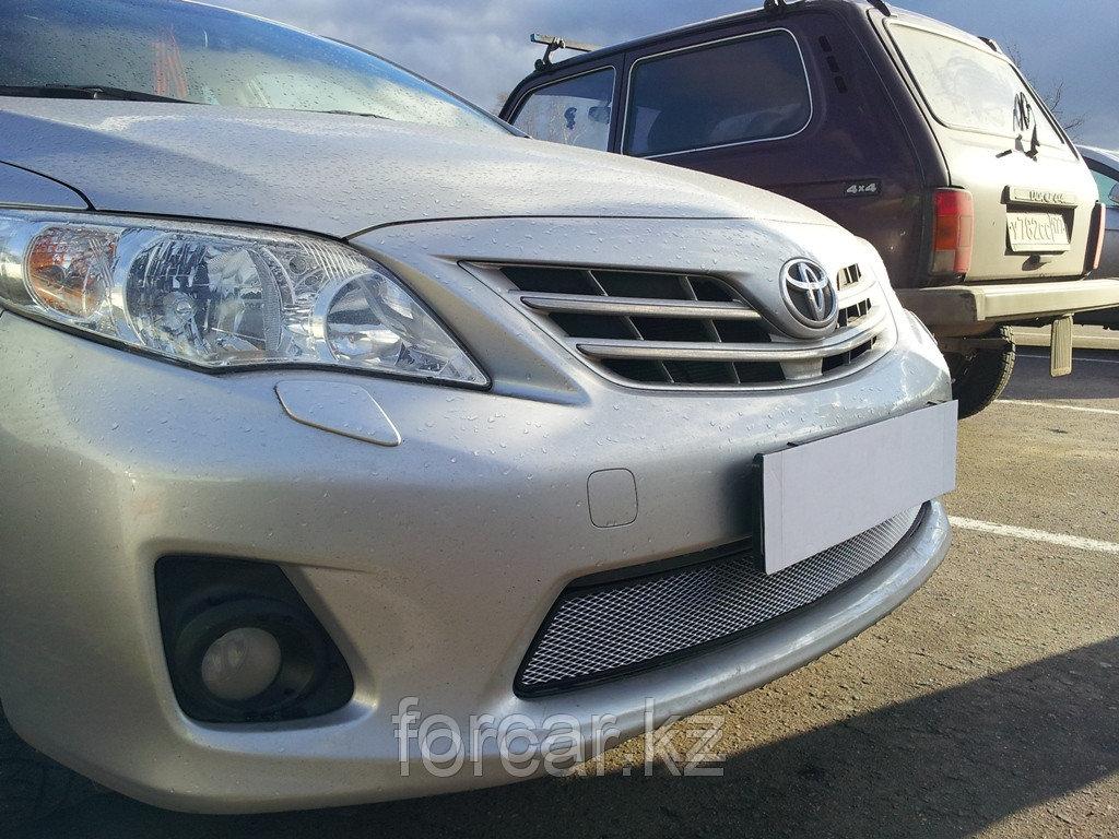 Защита радиатора Toyota Corolla 2011-2013  chrome