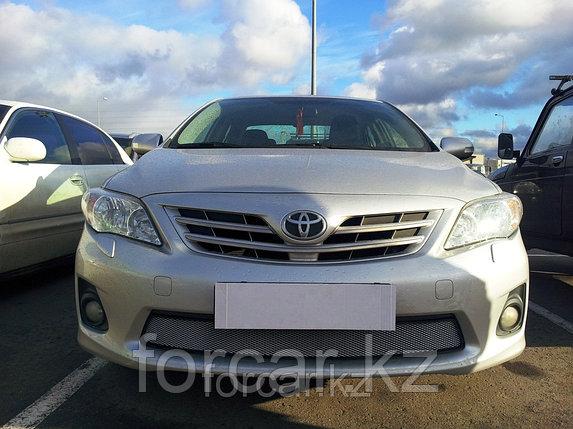 Защита радиатора Toyota Corolla 2011-2013  chrome, фото 2