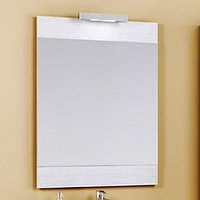 Панель Aqwella Brig 60 с зеркалом и светильником Br.02.06/SM цвет сосна магия