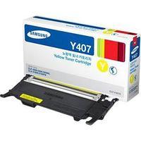 Картридж Samsung/CLT-Y407S/Лазерный/желтый