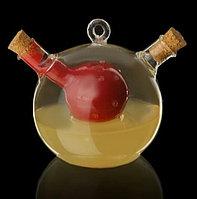 """Бутыль """"2 в 1"""" для соусов и масла """"Фьюжн"""": 230 мл, 40 мл 10,5х8,5х9,5 см, фото 1"""