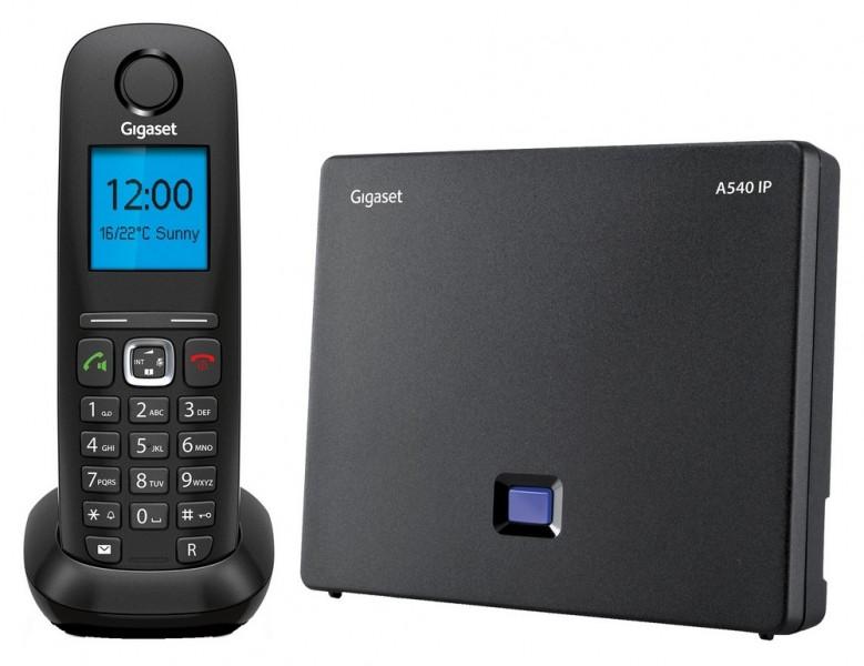 Gigaset  A540 IP беспроводной IP DECT телефон