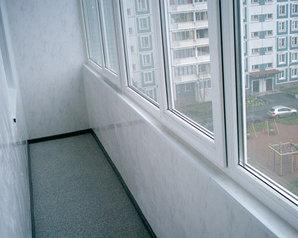 Копия Установка балконов из пластика