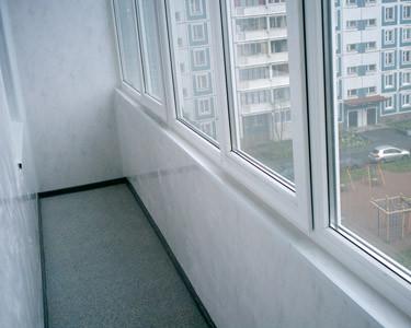 Копия Установка балконов из пластика - фото 1