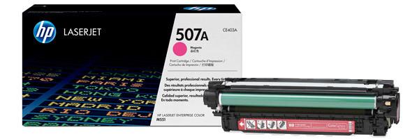 Лазерный картридж HP 507A (Оригинальный, Пурпурный - Magenta) CE403A