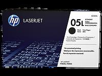 Лазерный картридж HP 05L (Оригинальный, Черный - Black) CE505L