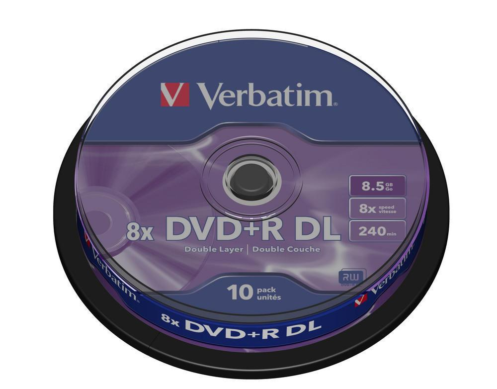 DVD+R 8.5GB Verbatim