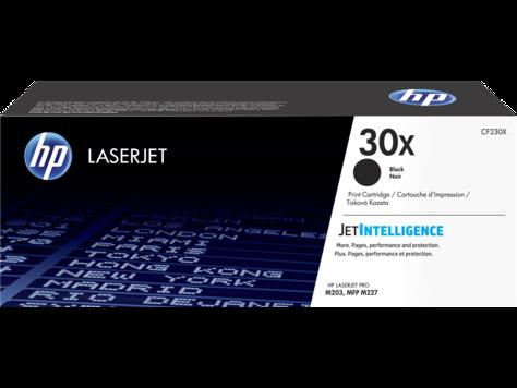 Лазерный картридж HP 30X (Оригинальный, Черный - Black) CF230X