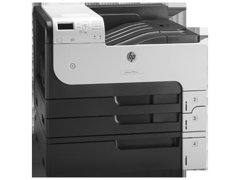 Принтер HP LaserJet Enterprise 700 M712xh B (А3, Лазерный, Монохромный (черно - белый), USB, Ethernet) CF238A