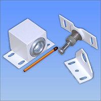 Замок электромеханический миниатюрный Promix-SM102 (Шериф-2 лайт) НЗ, нормально закрытый, цвет белый