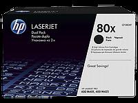 Лазерный картридж HP 80X (Оригинальный, Черный - Black) CF280XF