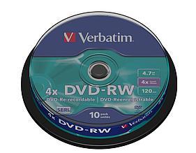DVD-RW SP-010 4X Verbatim