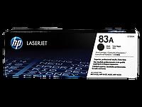 Лазерный картридж HP 83A (Оригинальный, Черный - Black) CF283A