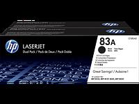 Лазерный картридж HP 83A (Оригинальный, Черный - Black) CF283AD