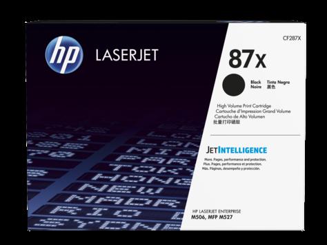 Лазерный картридж HP 87X (Оригинальный, Черный - Black) CF287X
