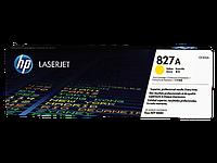 Тонер картридж HP 827A (Оригинальный, Желтый - Yellow) CF302A