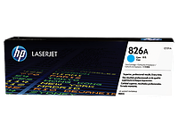 Тонер картридж HP 826A (Оригинальный, Голубой - Cyan) CF311A