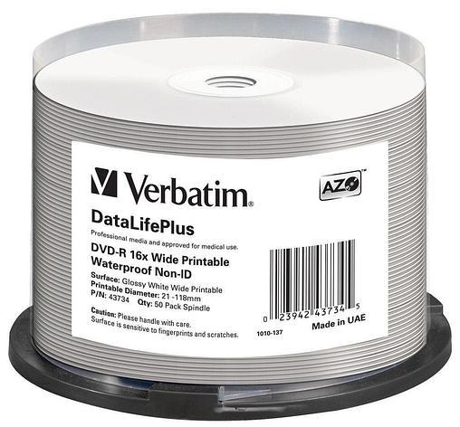 DVD-R 4.7GB Verbatim Waterproof, фото 2