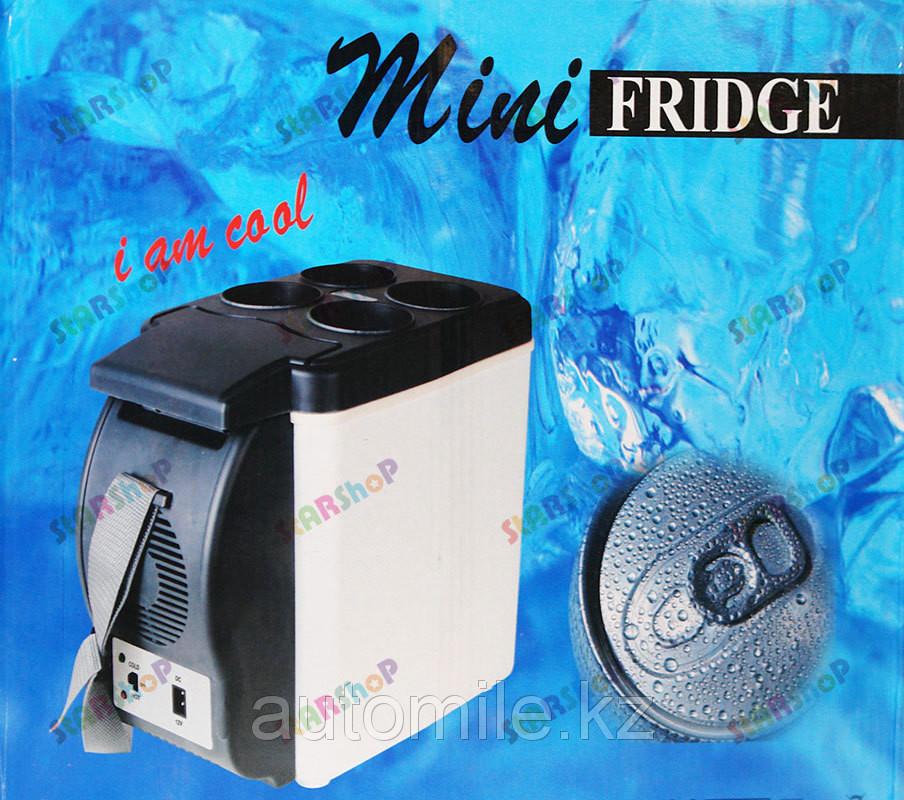 Холодильник автомобильный 6л (подлокотник) 12v-220v